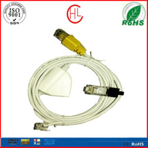 White Customized Assembly Telephone Cable pictures & photos