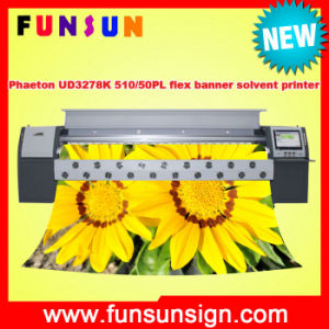 Best Price for Phaeton Ud3278k Outdoor Flex Banner Printer with 3200mm 720dpi 510/50pl Heads pictures & photos
