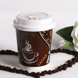 Double Wall Paper Cup for Hot and Cold Beverage
