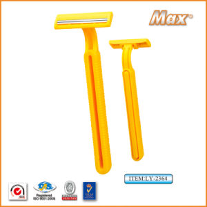 Chrome Coated Stainless Steel Twin Blade Disposable Razor (LY-2364) pictures & photos
