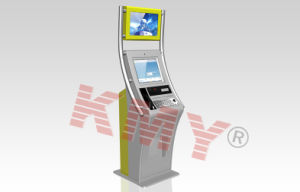 Free Standing Bank Payment Electronic Touchscreen Self-Service Information Kiosk pictures & photos