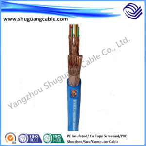 PE Insulated PVC Sheathed Screened Steel Wire Armored (SWA) Instrument Computer Cable pictures & photos