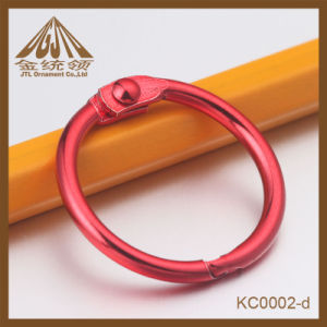 Fashion Nice Quality Red Paper Clip Binder Rings for Sale pictures & photos