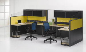 Contemporary Office Desk Office Work-Station with Hang Cabinet (HF-LTP020) pictures & photos