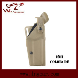 Safriland 6320 Tactical Pistol Holster for 1911 Holster Police Equipment pictures & photos