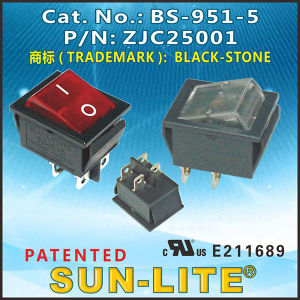 Rocker Switches (DPST) BS-951-5 pictures & photos
