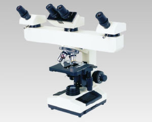 Mult-Viewing Microscope Xsz-N304 Three People Observation pictures & photos