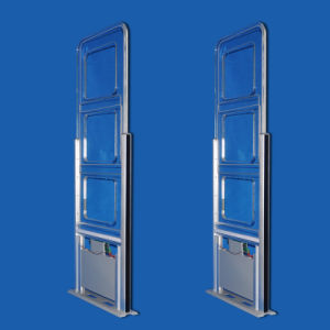 13.56 MHz RFID EAS Anti-Theft Gates for Library Access Control pictures & photos