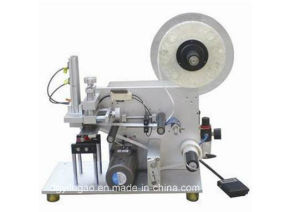 Semi-Automatic Round Bottle Labeling Machine pictures & photos