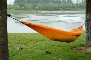 Hot Sale Single Color Safety Polyester Hammock Wholesale