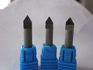 45 Degree V Bit CNC End Mill Diamond PCD Tools Stone Cutter pictures & photos