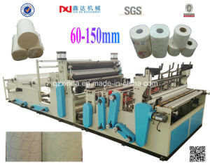 Full-Automatic DOT-by-DOT High-Speed Rewinding and Perforated Toilet Paper and Towel Paper Machine pictures & photos