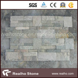 Green Quartzite Culture Stone Tile for Wall Cladding pictures & photos