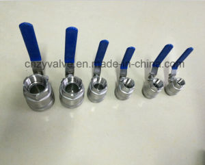2PCS Stainless Steel Threaded Ball Valve (Q41F) pictures & photos