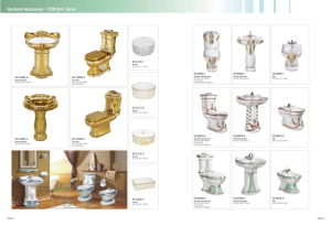 Middle East Style Golden Above Counter Basin CE-G-121-O pictures & photos
