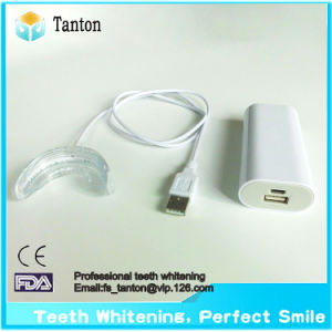New Style Mini LED Teeth Whitening Light with Double Tray