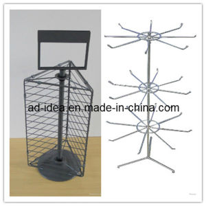 Rotary Countertop Display Stand / Rotating Wire Tabletop Stand pictures & photos