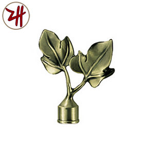 Curtain Rod Tracket Decorate Iron Cap (ZH-3003) pictures & photos