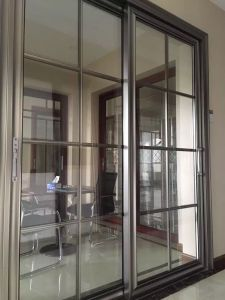 Cheap Aluminum Sliding Door (RA-G133) pictures & photos