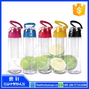 2015 New Design Wholesale Promotion Custom Logo Glass Fruit Infuser Water Bottle BPA Free