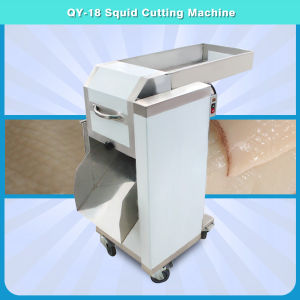 New Type Stainless Steel Squid Cutting Machine, Chicken Kidney Cutter Qy-18 pictures & photos