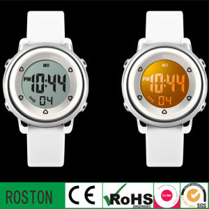 Japan Quartz Movement Water Resistant Kids LED Watch pictures & photos