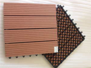 WPC DIY Interlocking Tiles Plastic Base Deck Tile pictures & photos