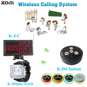 Wireless Paging System for Restaurant Fast Food with CE Certification pictures & photos