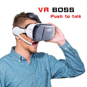 Vr Boss 3D Glasses with Headphone and Microphone pictures & photos