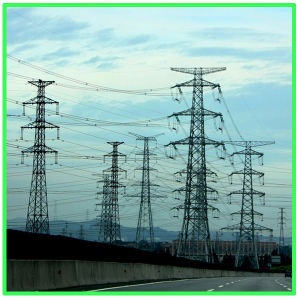 Electric Power Transmission Line Steel Tower/Steel Structure