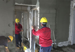 Construction Concrete Mixing Plant Wall Plastering Machine pictures & photos