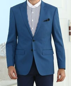 2017 Spring New Style Royal Blue Men Casual Jacket pictures & photos