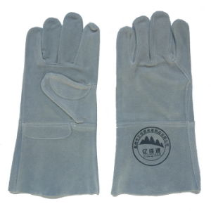 Cow Split Leather Safety Working Welding Gloves with Ce pictures & photos