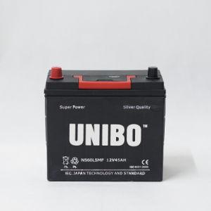 Mf Auto Battery Ns60ls Mf 12V45ah High Performance JIS Car Battery pictures & photos