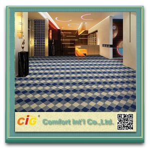 Printed Brushed Carpet Made of Polyester pictures & photos