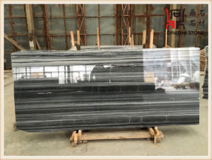 Natural Marble Blue Wooden Grey Marble Slabs for Wall Decoration pictures & photos