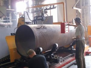 CNC Pipe Profile Plasma and Flame Bevel Cutting Machine pictures & photos