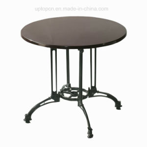 Commercial Leisure Metal Outdoor Garden Cafe Table (SP-AT227) pictures & photos