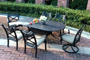 7PC Outdoor Dining Set Cast Aluminum Furniture pictures & photos