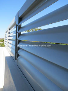Exterior Motorized Aluminium Solar Shading pictures & photos