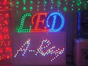 LED Sign, LED Signboard String pictures & photos