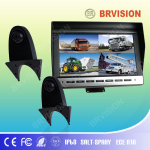 10.1 Inch Rear View System with Waterproof IP69k Shark Mount Rearview Camera for Truck pictures & photos