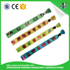 Customized Sublimation Fabric Bracelet pictures & photos