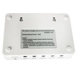 New Product 5V 9V 12V 15V 24V DC Output Mini UPS pictures & photos