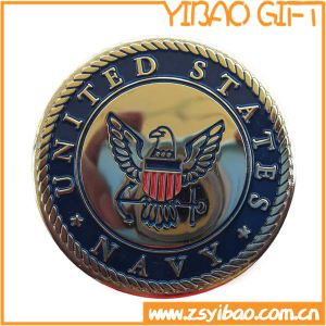 Us Navy Metal Coin with Eagle Pattern (YB-c-054) pictures & photos