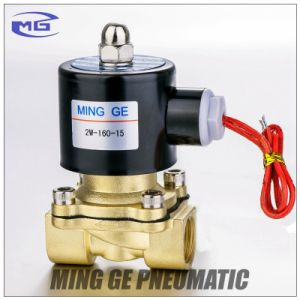 2/2 Way Pneumatic Solenoid Valve for Water (2W Series) pictures & photos