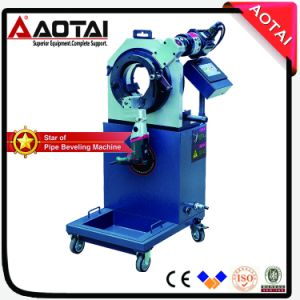 Saw Bit Blade Cold Cutting, Automatic Orbital Ss Pipe Cutter and Beveller Machine pictures & photos