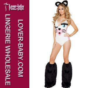 Kitty Animal Fancy Lady Sexy Costume (L15227) pictures & photos