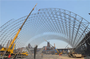 Prefab Large Span Steel Frame Machine Building pictures & photos