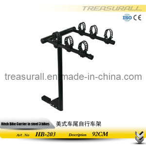 China Manufacture Hitch Mount 3 Bike Cycle Carrier (HB-203)